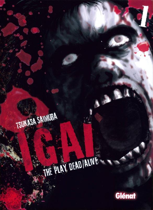 Igai - The play dead/alive T1, manga chez Glénat de Saimura