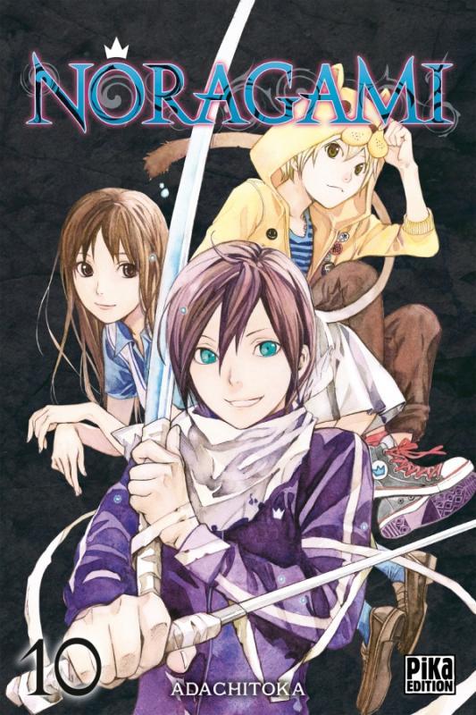 Noragami T10, manga chez Pika de Adachi