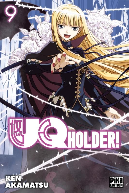 UQ Holder! T9, manga chez Pika de Akamatsu