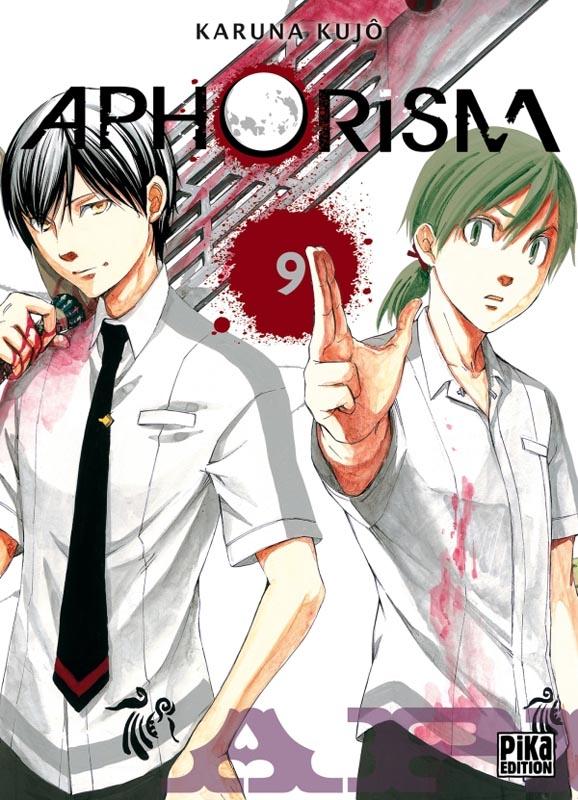 Aphorism T9, manga chez Pika de Karuna