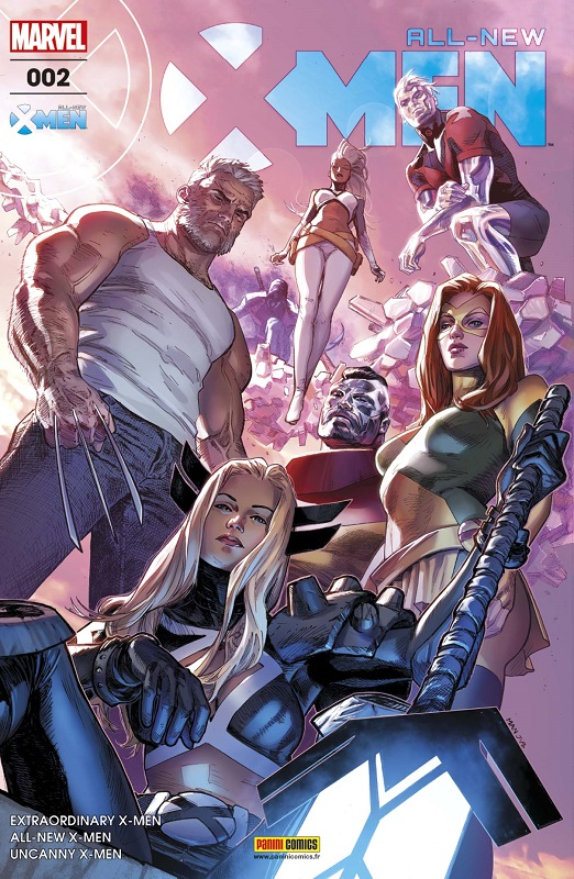All-New X-Men T2 : La survie du plus fort, comics chez Panini Comics de Hopeless, Lemire, Bunn, Ramos, Bagley, Land, Delgado, Woodard, Mann