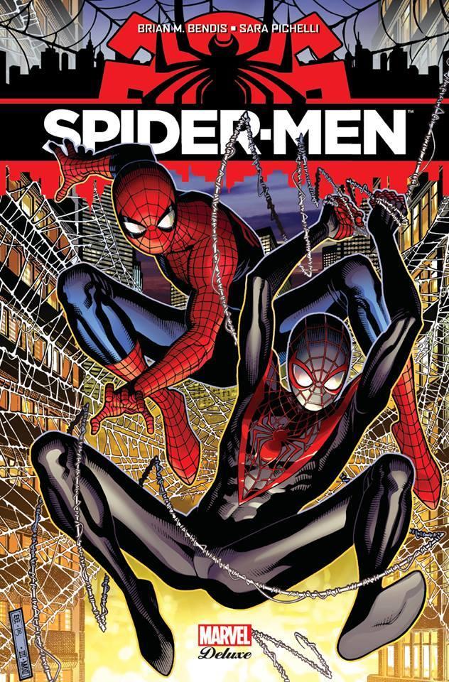 Spider-Men, comics chez Panini Comics de Bendis, Pichelli, Ponsor