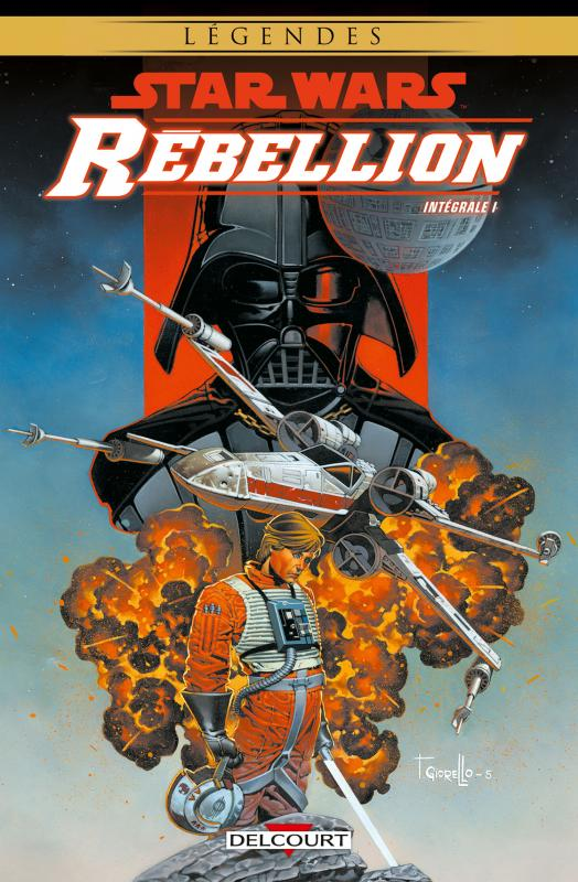 Star wars - Rébellion T1 : , comics chez Delcourt de Andrews, Hartley, Lacombe, Fabbri, Melo, Domenico, Atiyeh, Giorello