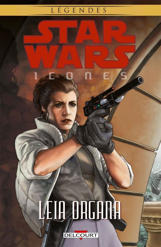 Star Wars - Icones T2 : Leia Organa (0), comics chez Delcourt de Marz, Hall, Waller, Stradley, Winick, Brunner, Fabbri, Giorello, Plunkett, Chadwick, Atiyeh, David, Steacy, Digital Chameleon, Wheatley