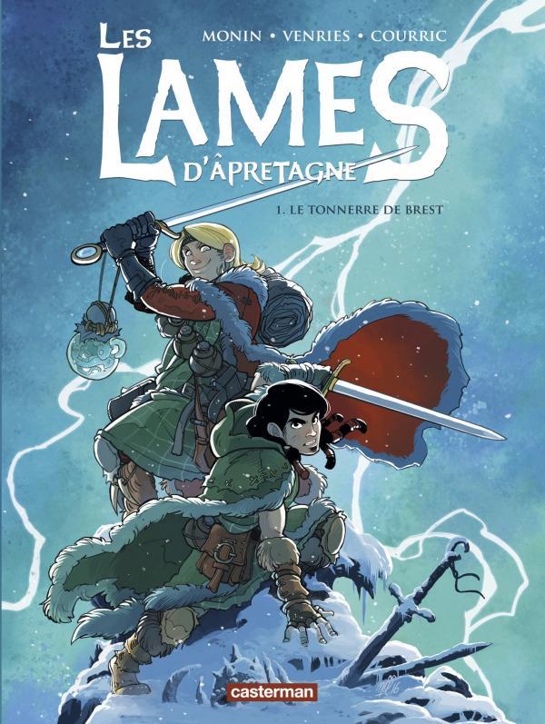 Les Lames d'Apretagne T1 : Tonnerre de Brest (0), bd chez Casterman de Courric, Venries, Monin