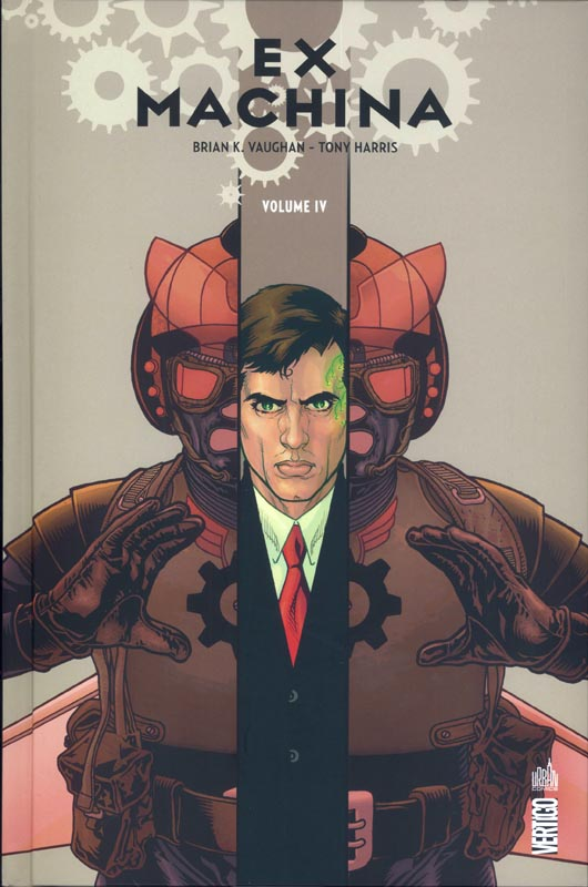 Ex Machina T4, comics chez Urban Comics de Vaughan, Harris, Mettler