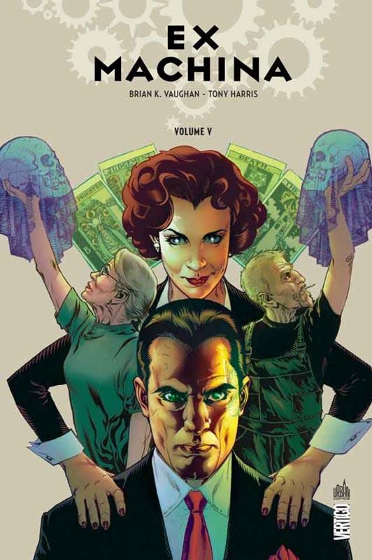 Ex Machina T5, comics chez Urban Comics de Vaughan, Leon, Harris, Mettler
