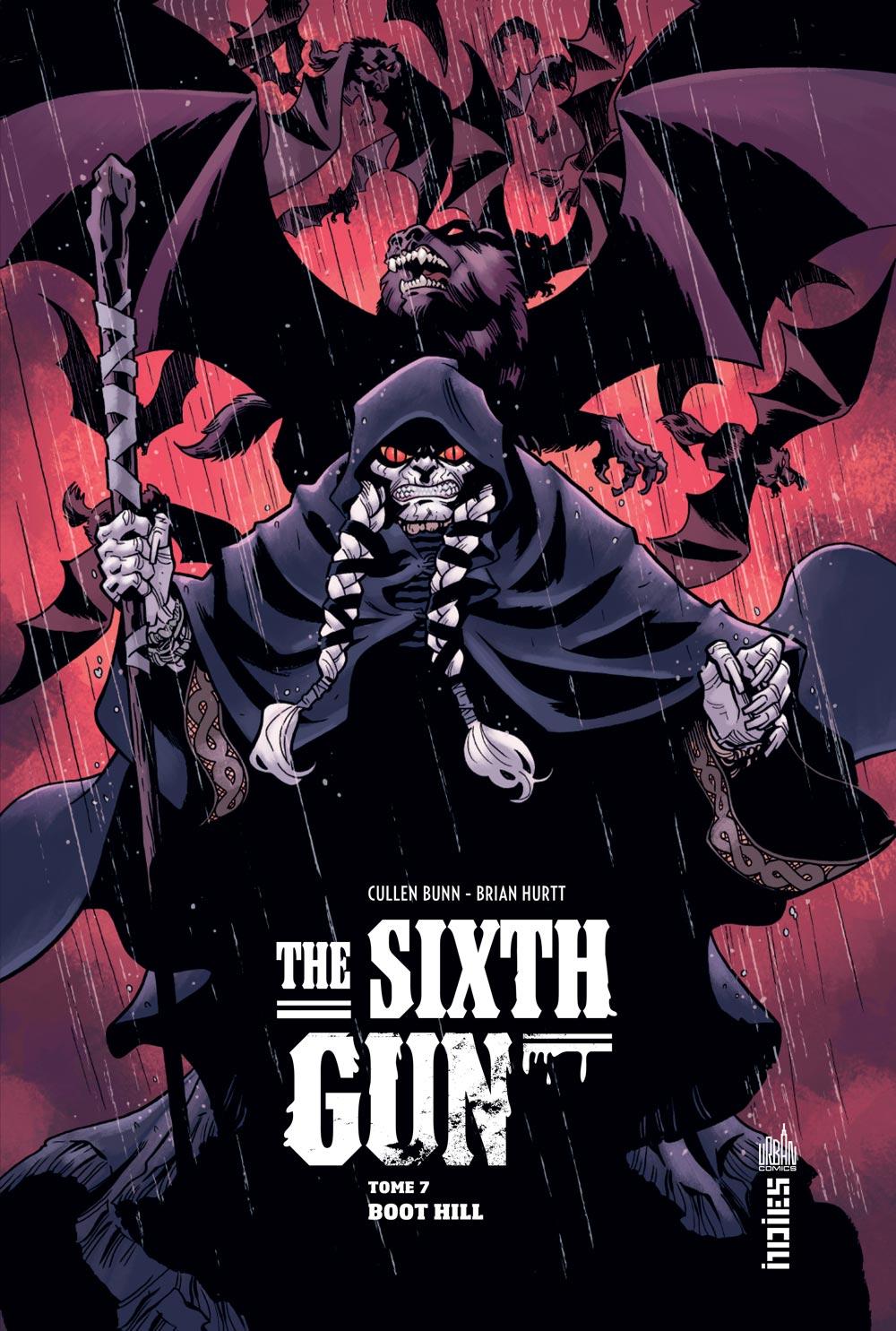 The Sixth Gun T7 : Boot Hill (0), comics chez Urban Comics de Bunn, Hurtt, Crabtree