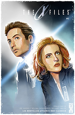 The X-Files T2, comics chez Glénat de Harris, Moy, Menton3, Walsh, Scott, Califano, Casagrande, Lyon, Bellaire, Cuomo, Florean