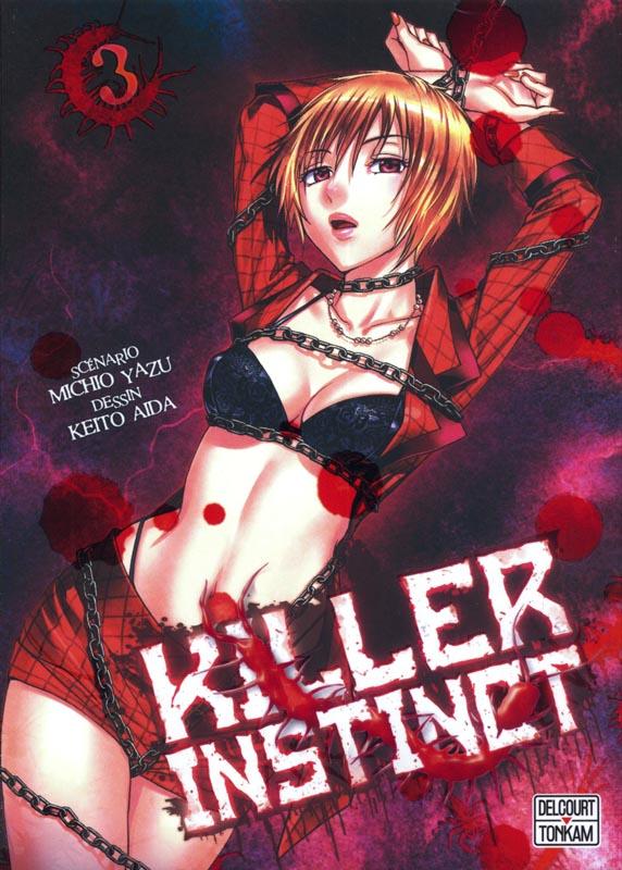 Killer instinct T3, manga chez Tonkam de Yazu, Aida