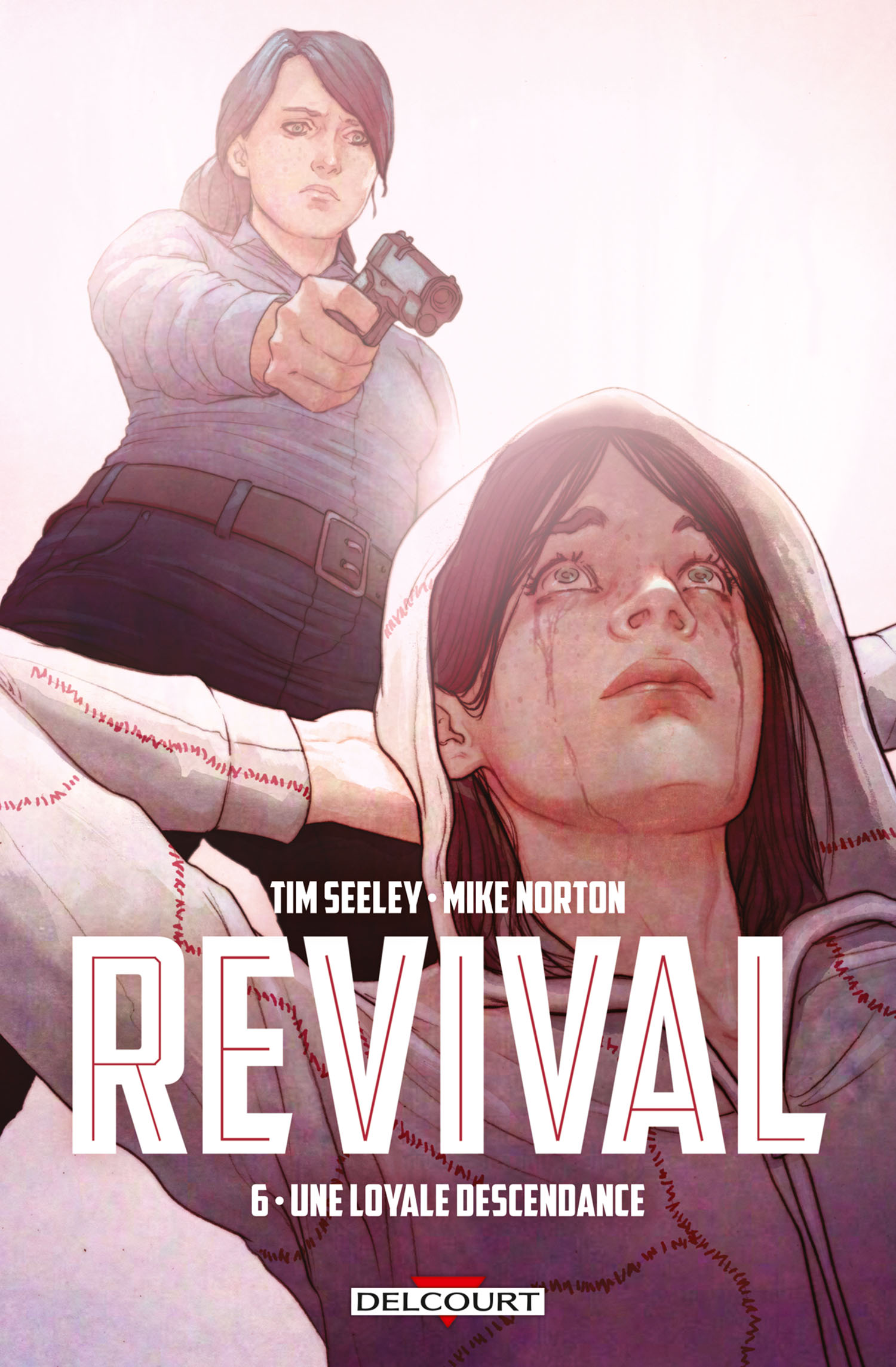 Revival T6 : Une loyale descendance, comics chez Delcourt de Seeley, Norton, Englert, Frison