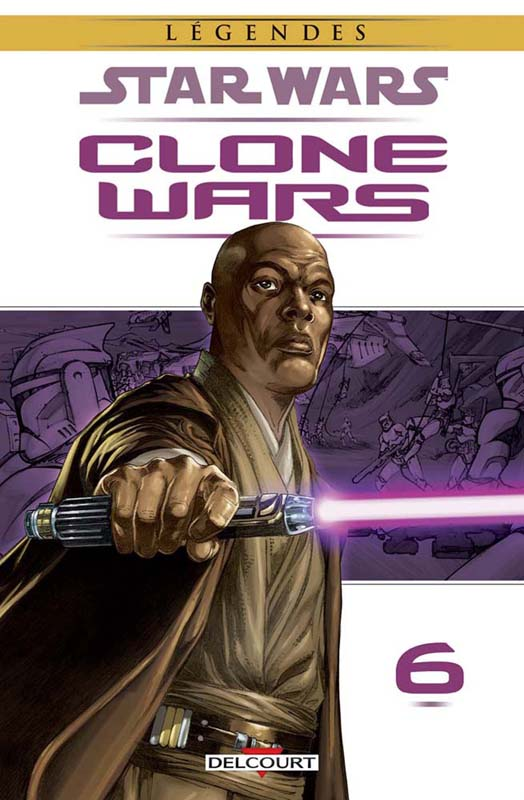 Star Wars - Clone Wars T6 : Démonstration de Force (0), comics chez Delcourt de Stradley, Ostrander, Badeaux, Duursema, Anderson