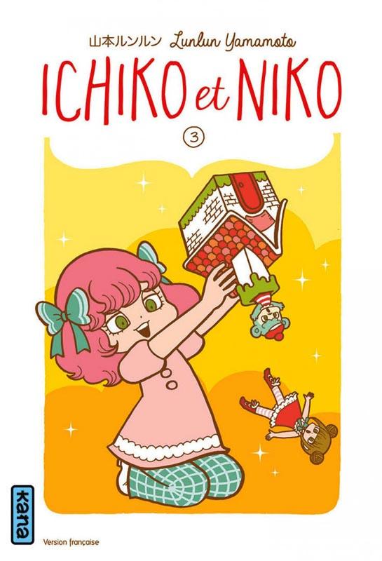 Ichiko & Niko T3, manga chez Kana de Yamamoto
