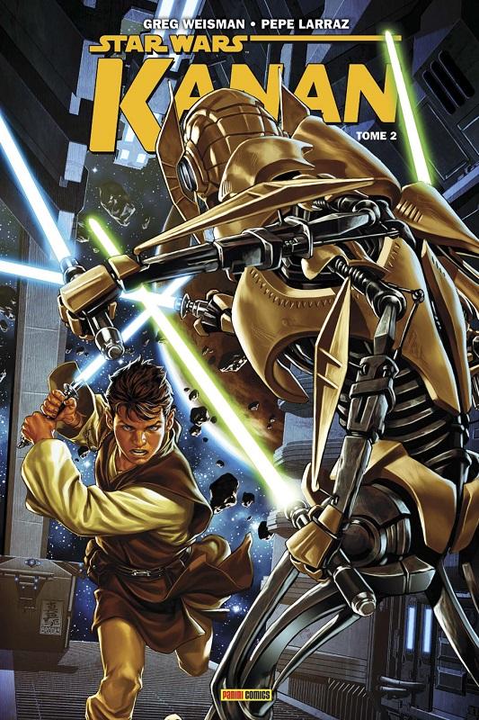 Kanan T2 : Premier sang (0), comics chez Panini Comics de Weisman, Larraz, Broccardo, Curiel, Brooks