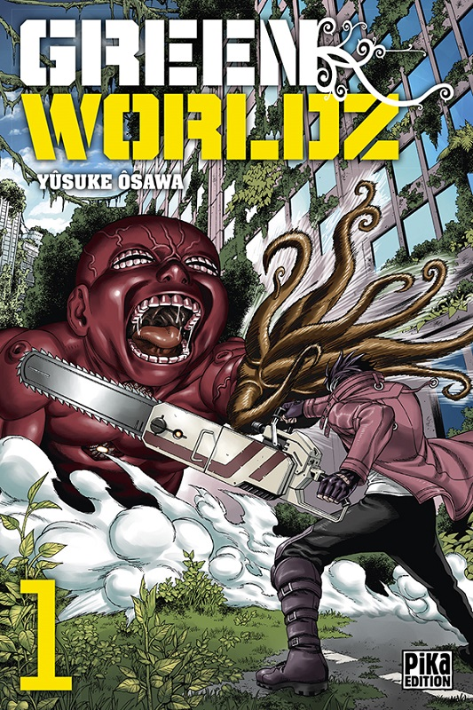 Green Worldz T1, manga chez Pika de Osawa