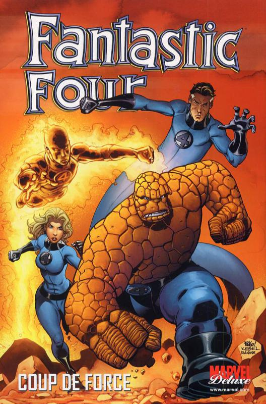 Fantastic Four T2 : Coup de force (0), comics chez Panini Comics de Waid, Wieringo, Smith, Porter, Milla, Mounts