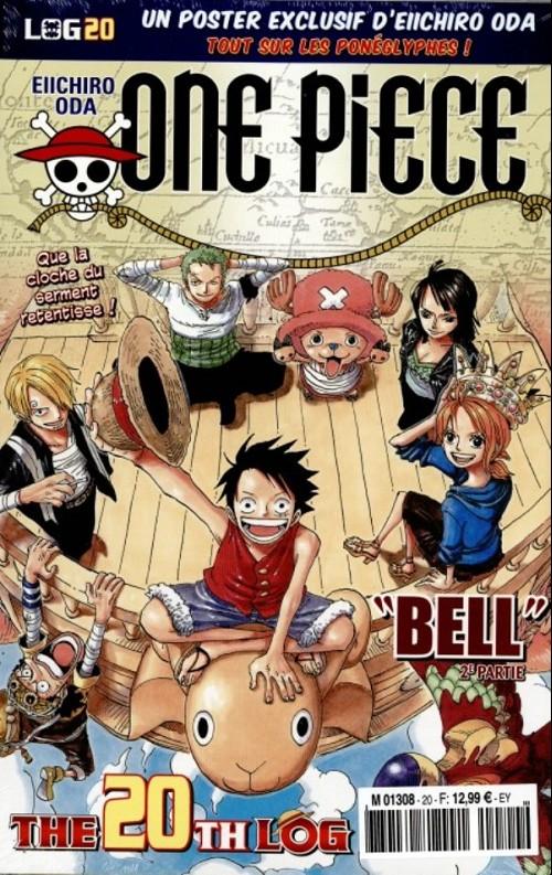 One Piece - Log Books T20 : Bell - 2e partie (0), manga chez Hachette de Oda