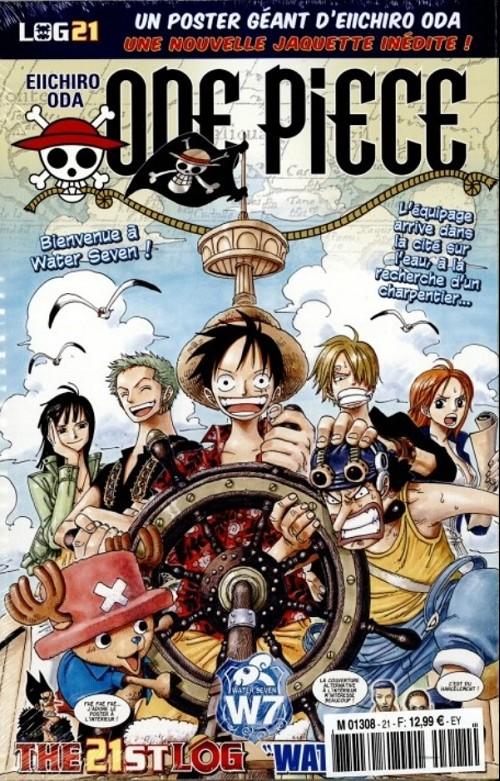 One Piece - Log Books T21 : Water Seven - 1ère partie (0), manga chez Hachette de Oda