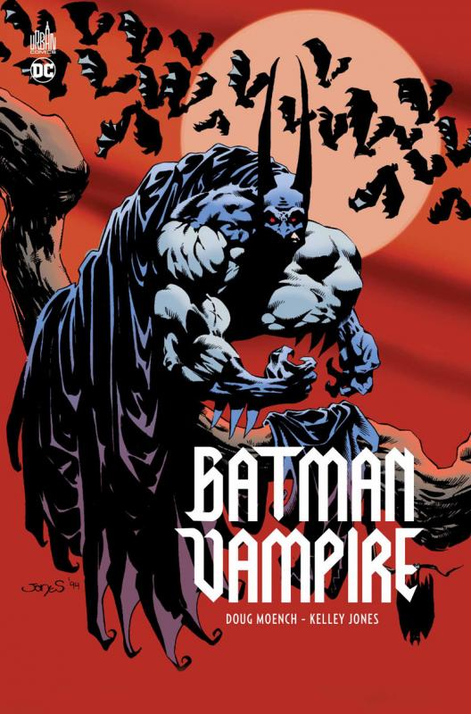 Batman Vampire, comics chez Urban Comics de Moench, Jones, Beatty