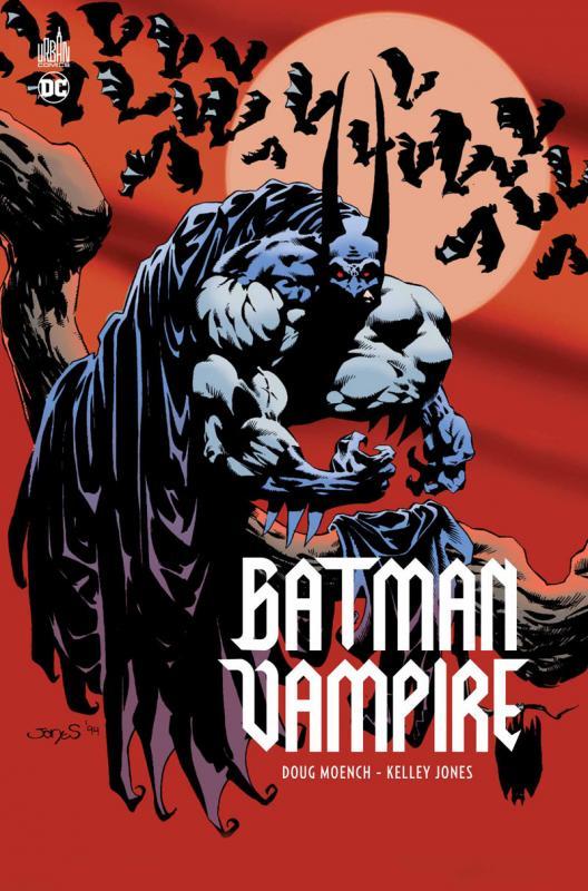 Batman Vampire, comics chez Urban Comics de Moench, Jones, Beatty