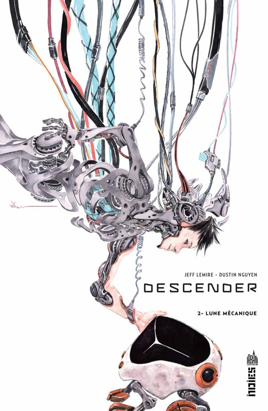 Descender T2 : Lune mécanique (0), comics chez Urban Comics de Lemire, Nguyen