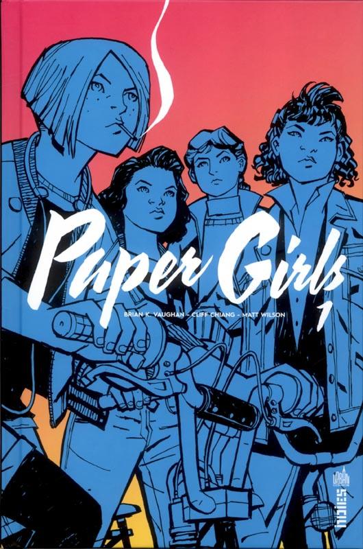Paper Girls T1, comics chez Urban Comics de Vaughan, Chiang, Wilson