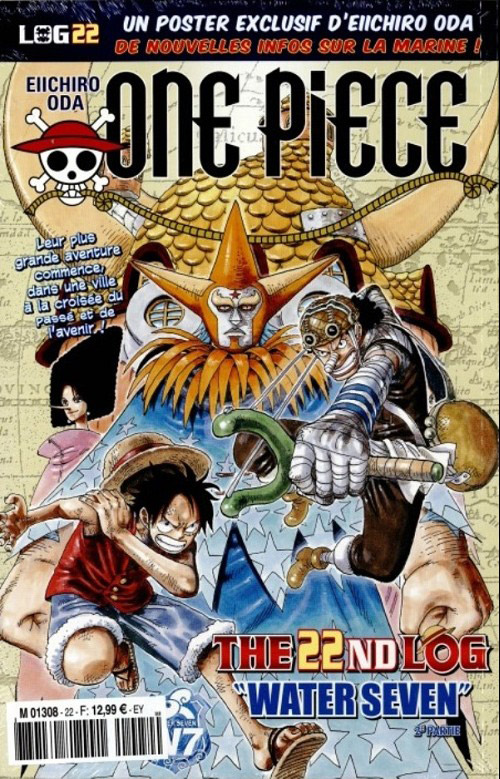 One Piece - Log Books T22 : Water Seven - 2e partie (0), manga chez Hachette de Oda