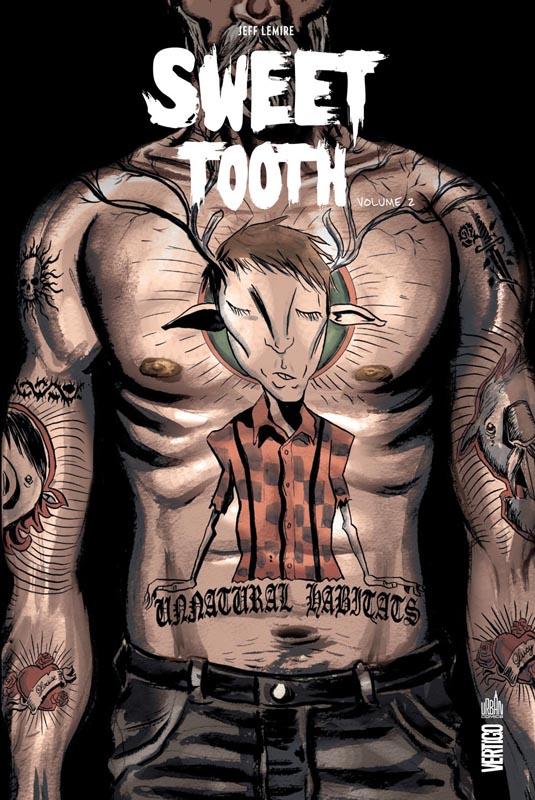 Sweet Tooth T2, comics chez Urban Comics de Lemire, Villarrubia