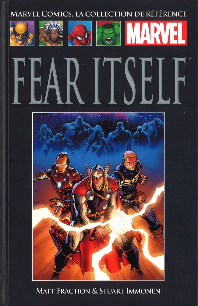 Marvel Comics, la collection de référence T60 : Fear Itself (0), comics chez Hachette de Fraction, Brubaker, Eaton, Martin, Gho, Immonen