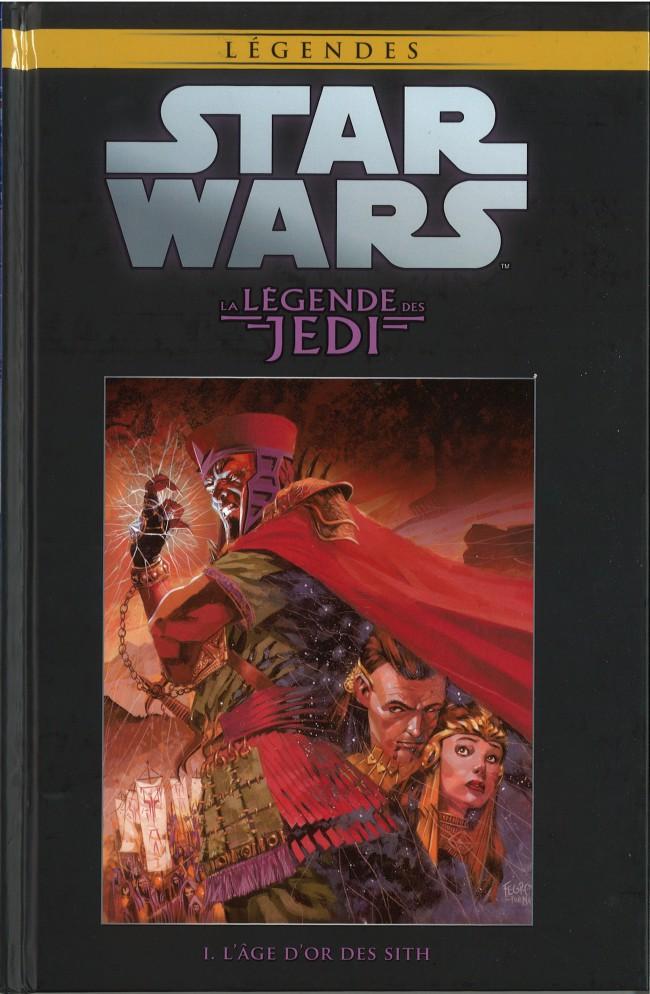 Star Wars Légendes T4 : La Légende des Jedi - L'âge d'or des Sith (0), comics chez Hachette de Anderson, Gossett, Carrasco, McNamee, Rambo, Fegredo