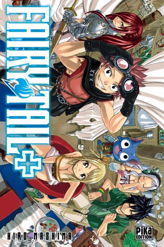 Fairy Tail : Fairy tail + (0), manga chez Pika de Mashima