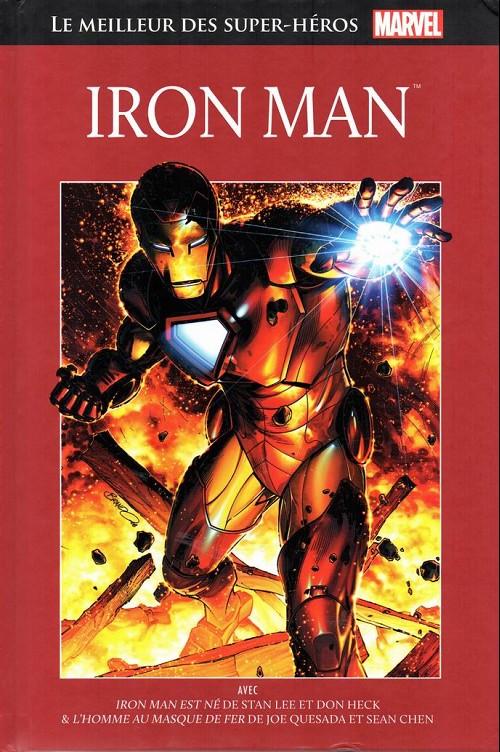 Marvel Comics : le meilleur des super-héros T6 : Iron Man (0), comics chez Hachette de Quesada, Lieber, Lee, Heck, Ramos, Decastro, Hunter, Chen, Martinez, Smith, Oliff