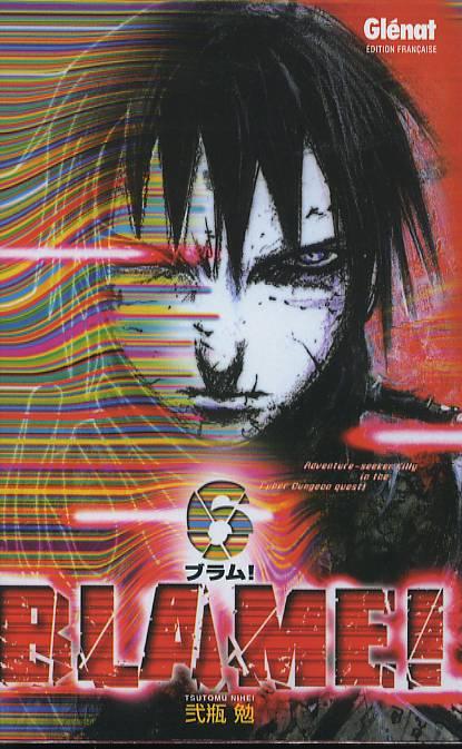 Blame ! – Edition simple, T6, manga chez Glénat de Nihei