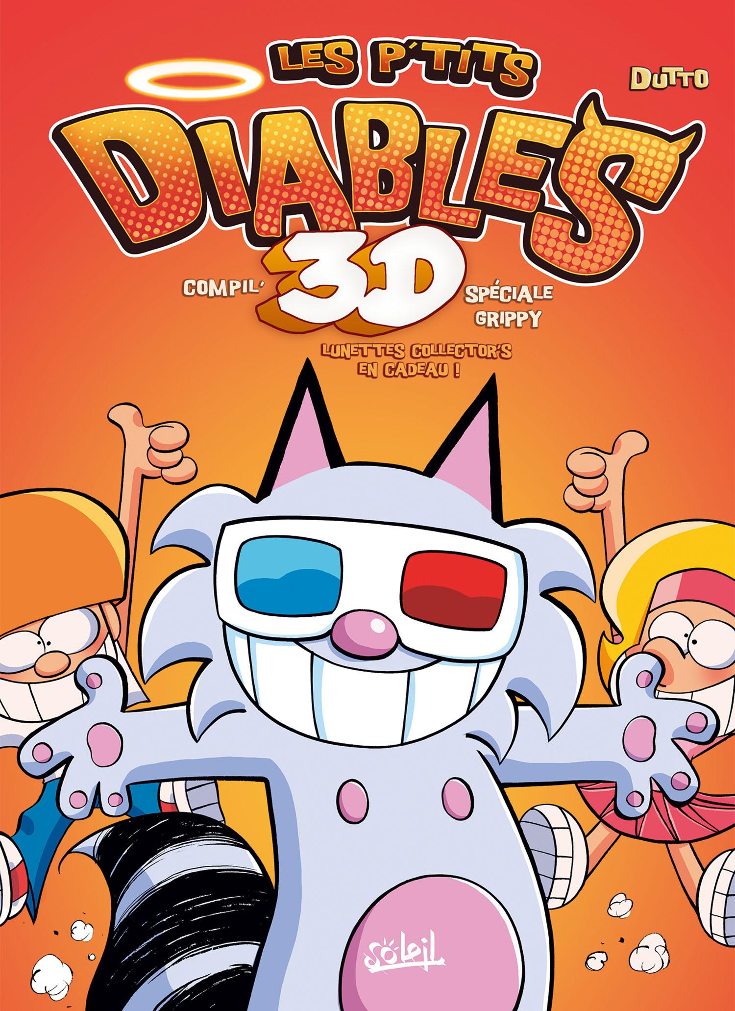 Les P'tits diables : Compile 3D spéciale Grippy (0), bd chez Soleil de BenBK, Dutto
