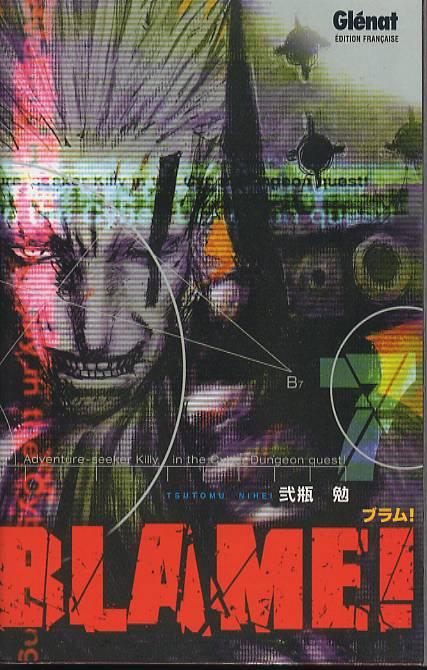 Blame ! – Edition simple, T7, manga chez Glénat de Nihei