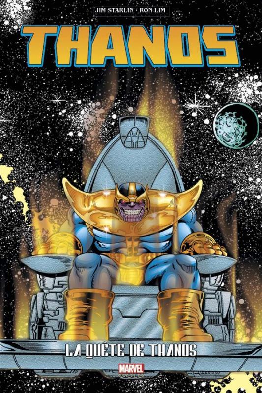 Thanos : La Quête de Thanos, comics chez Panini Comics de Starlin, Lim, Vincent