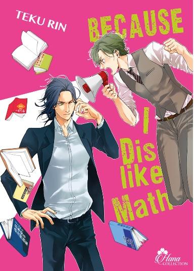 Because I dislike math, manga chez Boy's Love IDP de Rin