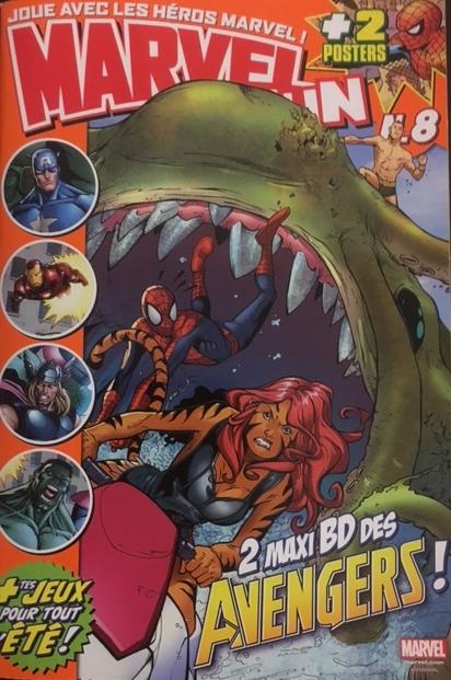 Marvel Fun T8 : 2 maxi BD des Avengers (0), comics chez Panini Comics de Tobin, Guara, Lolli, SotoColor