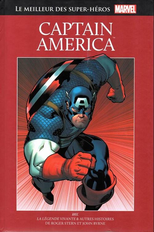 Marvel Comics : le meilleur des super-héros T7 : Captain America (0), comics chez Hachette de Stern, Byrne, Rubinstein, Roussos, Sharen