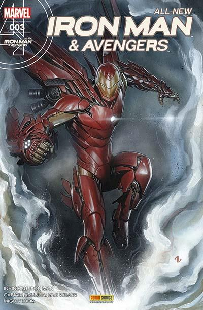 All-New  Iron Man & Avengers T3 : La saga de Thor et Loki (0), comics chez Panini Comics de Bendis, Aaron, Spencer, Marquez, Acuña, Choi, Dauterman, Wilson, Ponsor, Granov