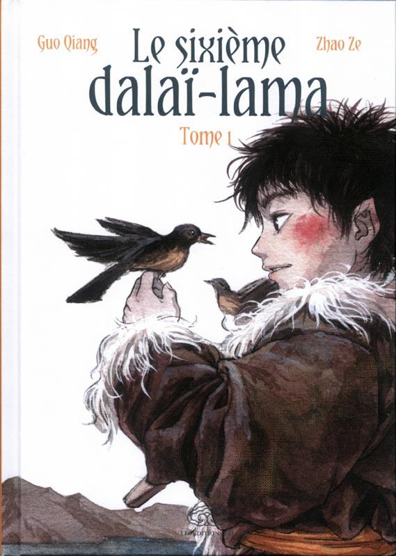 Le sixième Dalaï-Lama  T1, manga chez Les Editions Fei de Qiang, Ze