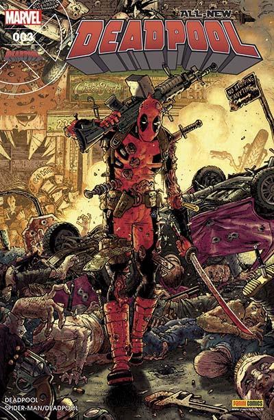 All-New Deadpool (revue) T3 : La fin d'une terreur (0), comics chez Panini Comics de Seeley, Acker, Duggan, Kelly, Bunn, Blacker, McGuinness, Beyruth, Crook, Norton, Koblish, Filardi, Gandini, Keith, Moore