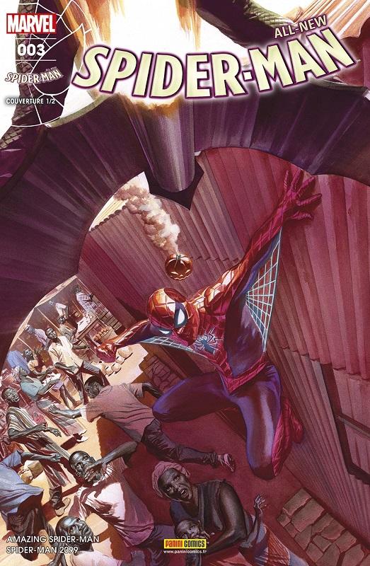All-New Spider-Man T3 : Priorité absolue (0), comics chez Panini Comics de Slott, Gage, Camuncoli, Gracia, Ross