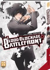 Blood blockade battlefront T3, manga chez Kazé manga de Nightow
