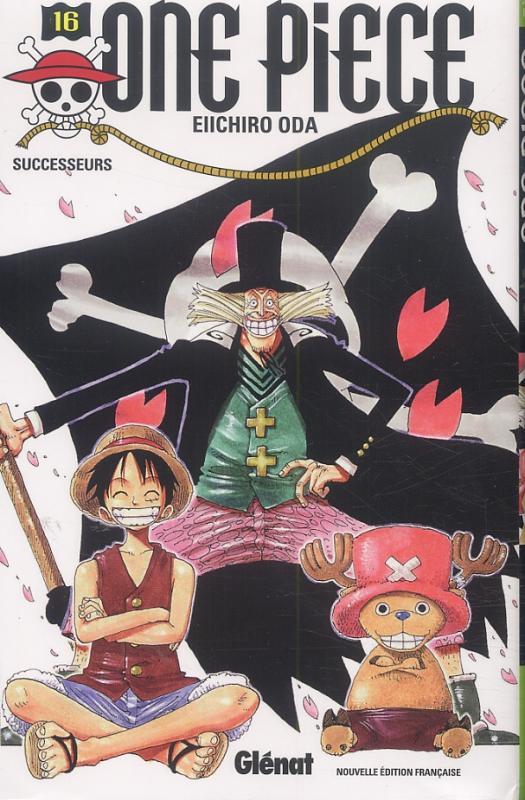 One Piece T16 : Successeurs (0), manga chez Glénat de Oda