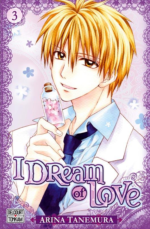 I dream of love T3, manga chez Tonkam de Tanemura