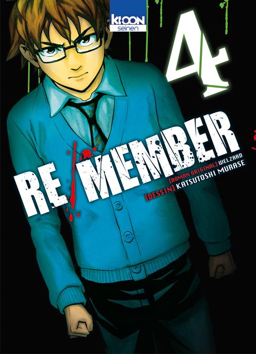 Re/member T4, manga chez Ki-oon de Welzard, Murase