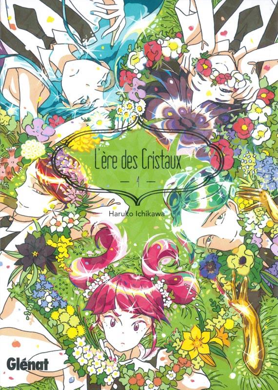 L'ère des cristaux T4, manga chez Glénat de Ishikawa