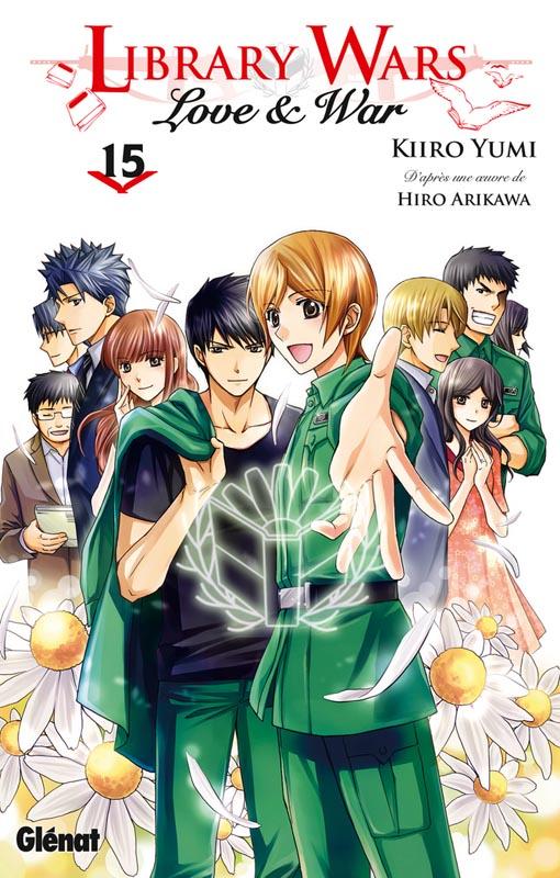 Library wars - Love & war  T15, manga chez Glénat de Arikawa, Yumi