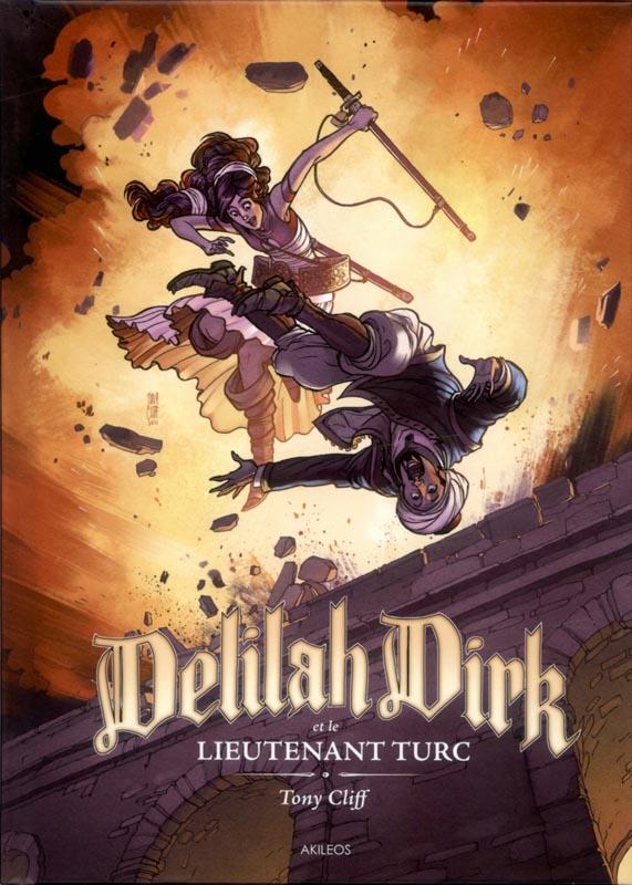 Delilah Dirk : Et le lieutenant Turc, comics chez Akileos de Cliff